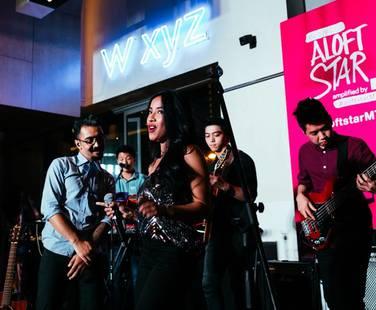 MTV Asia's Aloft Star Competiton (guest appearance)–– Aloft Hotel